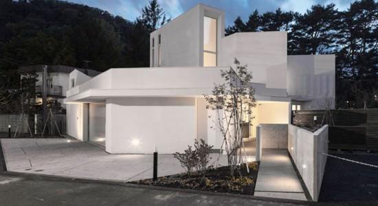 N residence в Хоккайдо от Akasaka Shinichiro Atelier