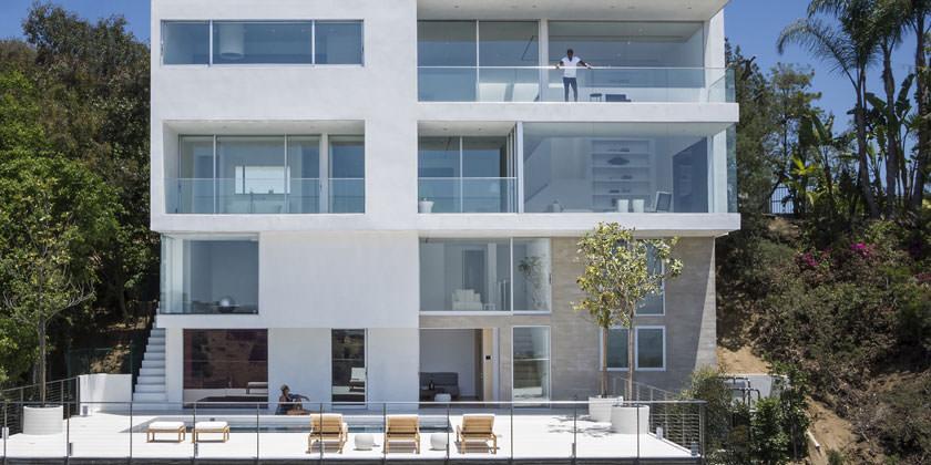 Элитный дом в Западном Голливуде от GWdesign