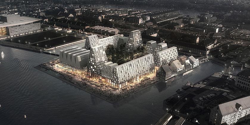 Copenhagen Halls от COBE