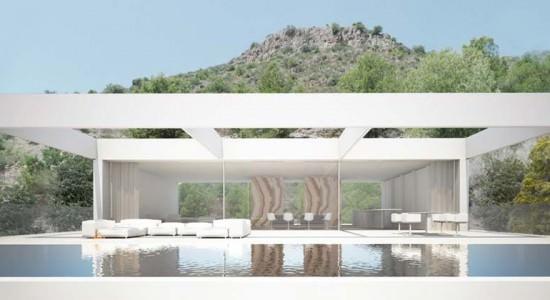 Проект особняка от Ramon Esteve Estudio