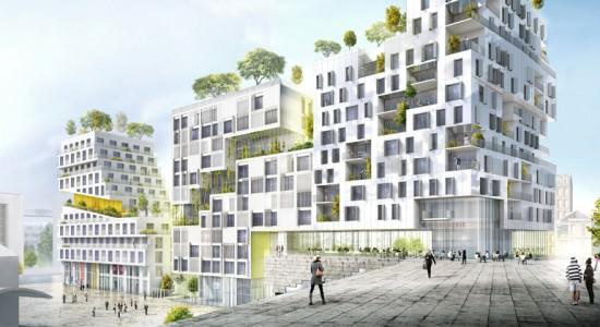 Проект жилого комплекса в Париже от SeARCH