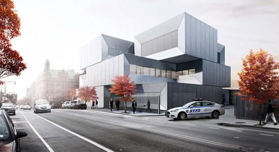Проект полицейского участка в Бронксе от Bjarke Ingels Group
