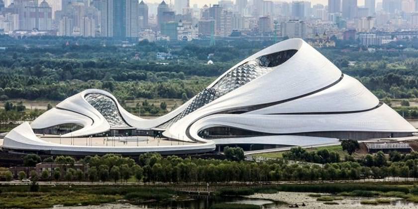 Харбинский Оперный театр от MAD Architects