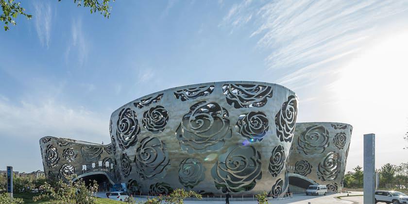 Первый в мире Музей розы от NEXT architects в Пекине