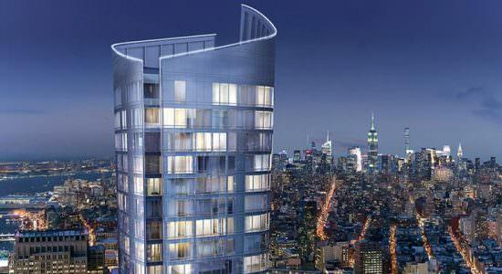 Жилой небоскреб в Нью-Йорке. Проект Kohn Pedersen Fox