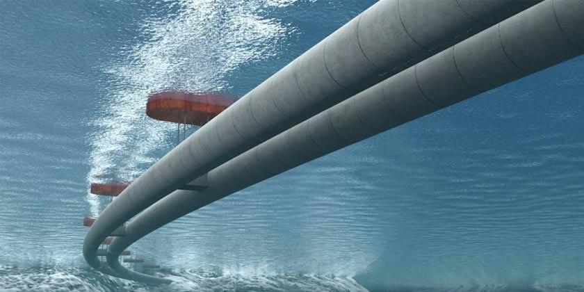 Проект туннеля на понтонах в Норвегии
