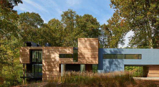 Двухэтажный дом под Вашингтоном. Проект Robert M. Gurney