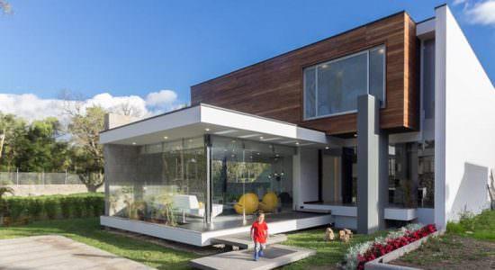 Современный модульный дом House PY. Проект ModulARQ arquitectura