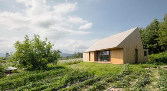 Современный дом в деревне. Проект stpmj