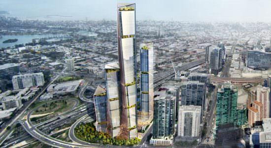 Комплекс небоскребов для Мельбурна от Benoy
