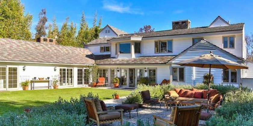 Два дома Тома Хэнкса в Пасифик Палисадес, Калифорния