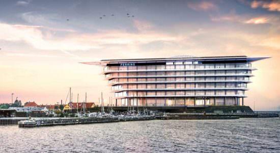 Новая штаб-квартира Ferring Pharamceuticals в Копенгагене