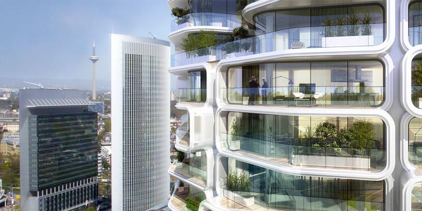 В Германии построят самый высокий жилой небоскреб