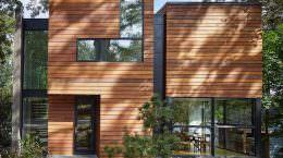 Просторный деревянный дом под Вашингтоном от Robert M. Gurney