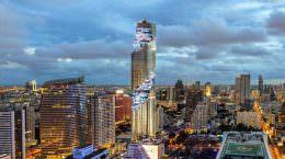 Самый высокий небоскреб Таиланда MahaNakhon Tower