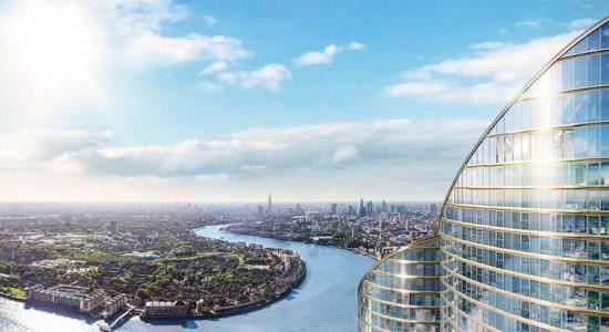 Самый высокий небоскреб Британии Spire London
