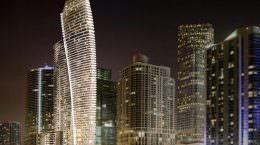 Жилой небоскреб Aston Martin Residences в Майами