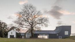 Загородный дом в Ирландии от Markus Schietsch Architekten