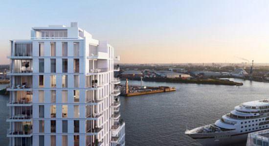 Новый ЖК в Гамбурге. Проект Ричарда Мейера