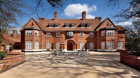 Шикарное имение в Лондоне, где остановился Джастин Бибер