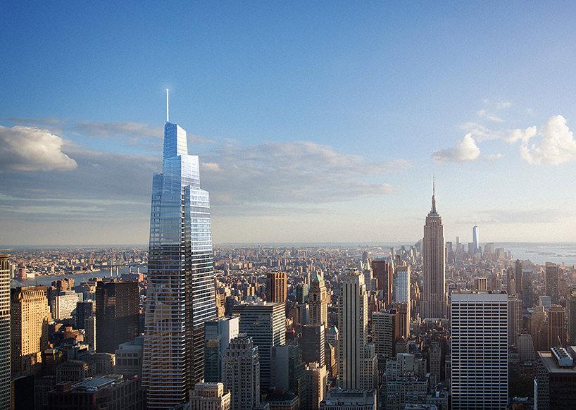 Небоскреб One Vanderbilt в Нью-Йорке. Проект KPF