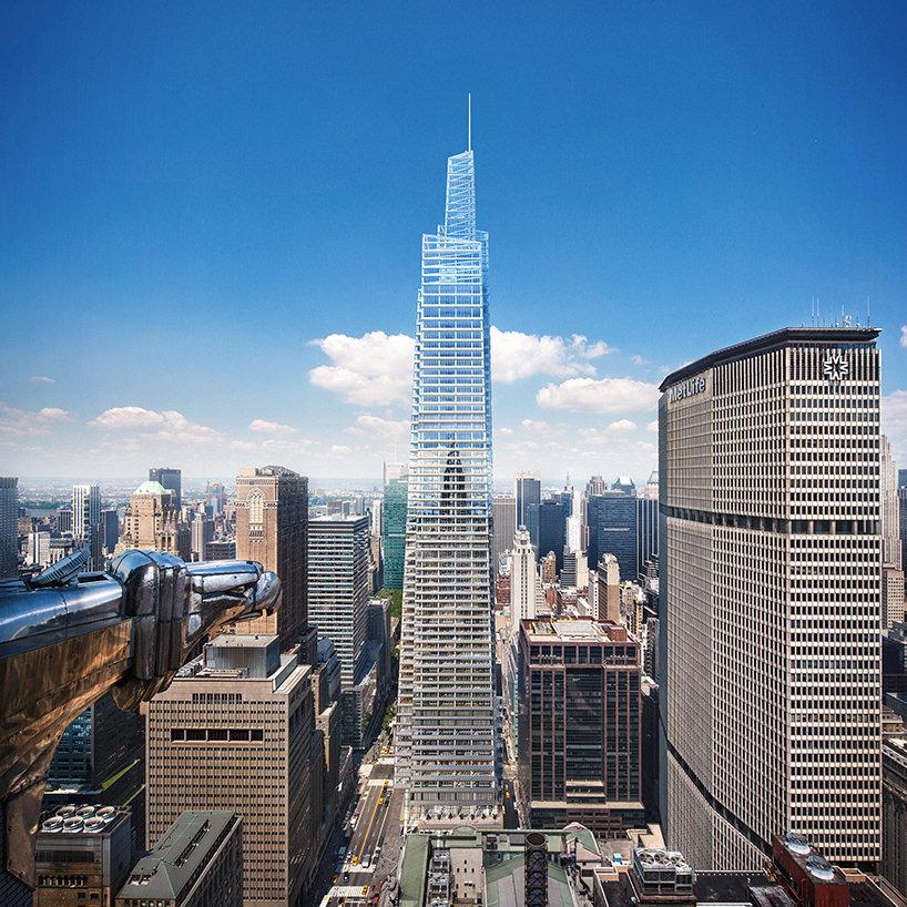Второй самый высокий небоскреб Нью-Йорка One Vanderbilt от KPF