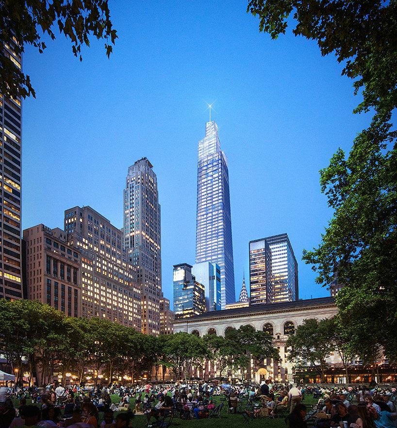 Вторая высочайшая башня Нью-Йорка One Vanderbilt от KPF