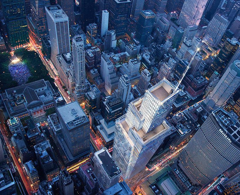 Второй высочайший небоскреб Манхэттена One Vanderbilt от KPF