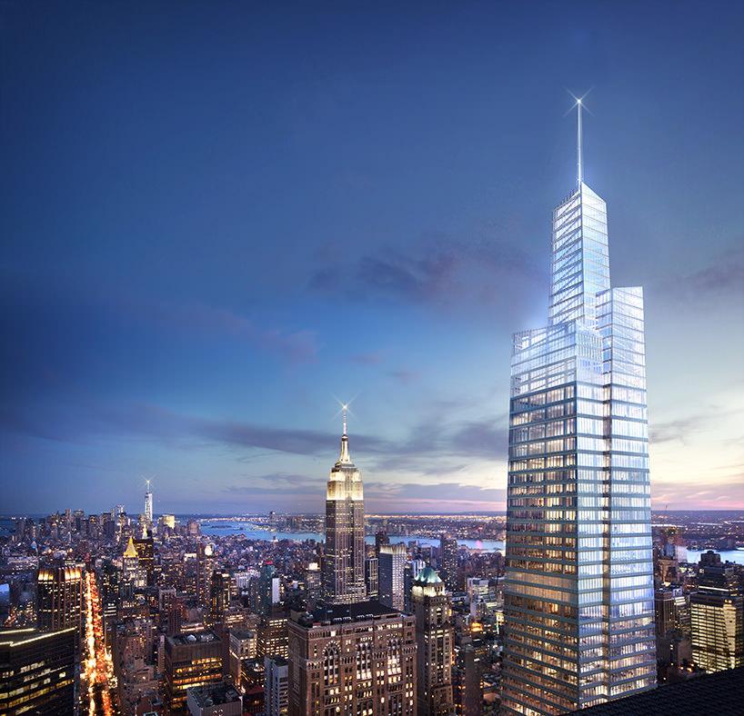 Вторая самая высокая башня Нью-Йорка One Vanderbilt от KPF