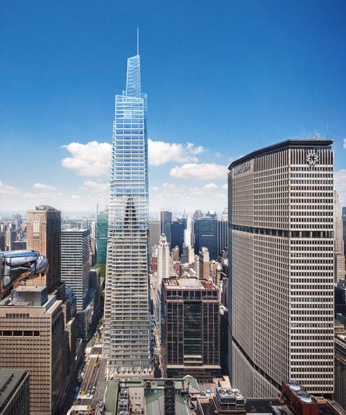 Вторая самая высокая башня Манхэттена One Vanderbilt от KPF