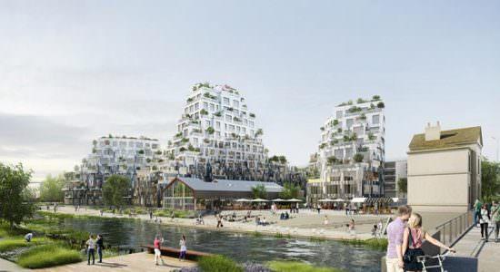 Жилой комплекс в Ренне. Проект MVRDV