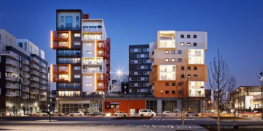 Новый эко-квартал The Docks на окраине Парижа