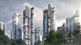 32 небоскреба в Сеуле от UNStudio