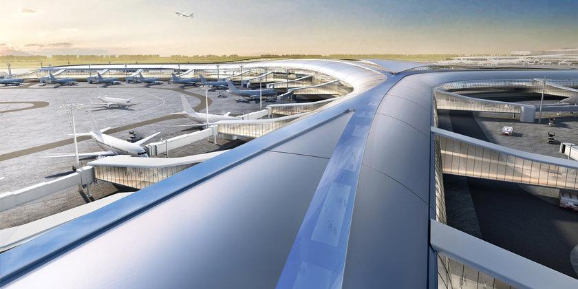 Терминал C Международного аэропорта Шэньчжэня. Проект Aedas