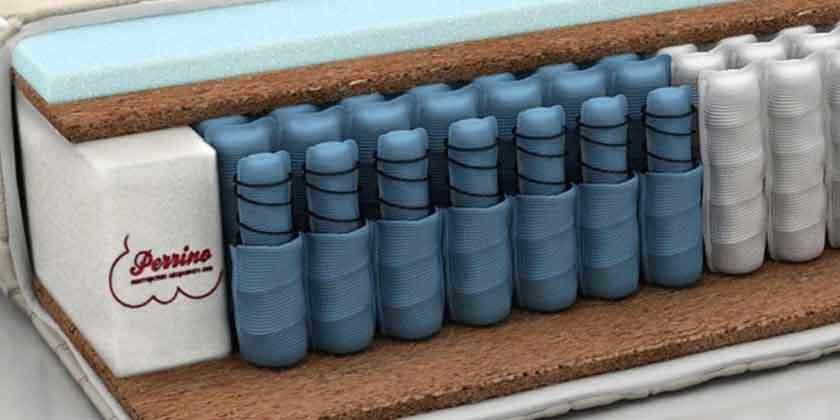 Двуспальные матрасы фабрики Perrino, купить у производителя