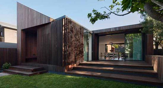 Лаконичный дом от Coy Yiontis Architects | фото, проект, цена