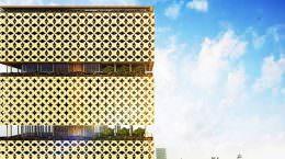 Деревянный небоскреб в Нигерии построит HKA | фото, проект