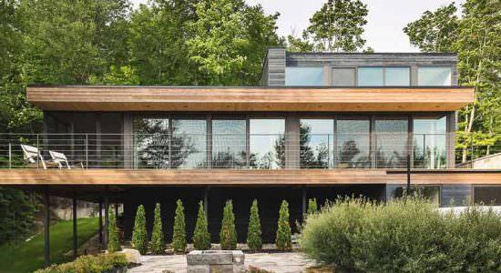 Дом на опушке леса. Проект MU Architecture | фото, обзор