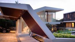 Дом в стиле хай-тек. Проект A D lab | фото, обзор