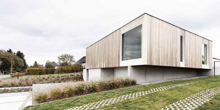 Полностью энергонезависимый дом из CLT-панелей от Skilpod