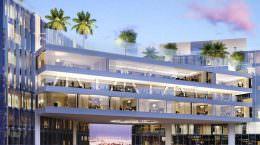 Небоскребы, соединенные мостом в Майами от Рафаэля Виньоли
