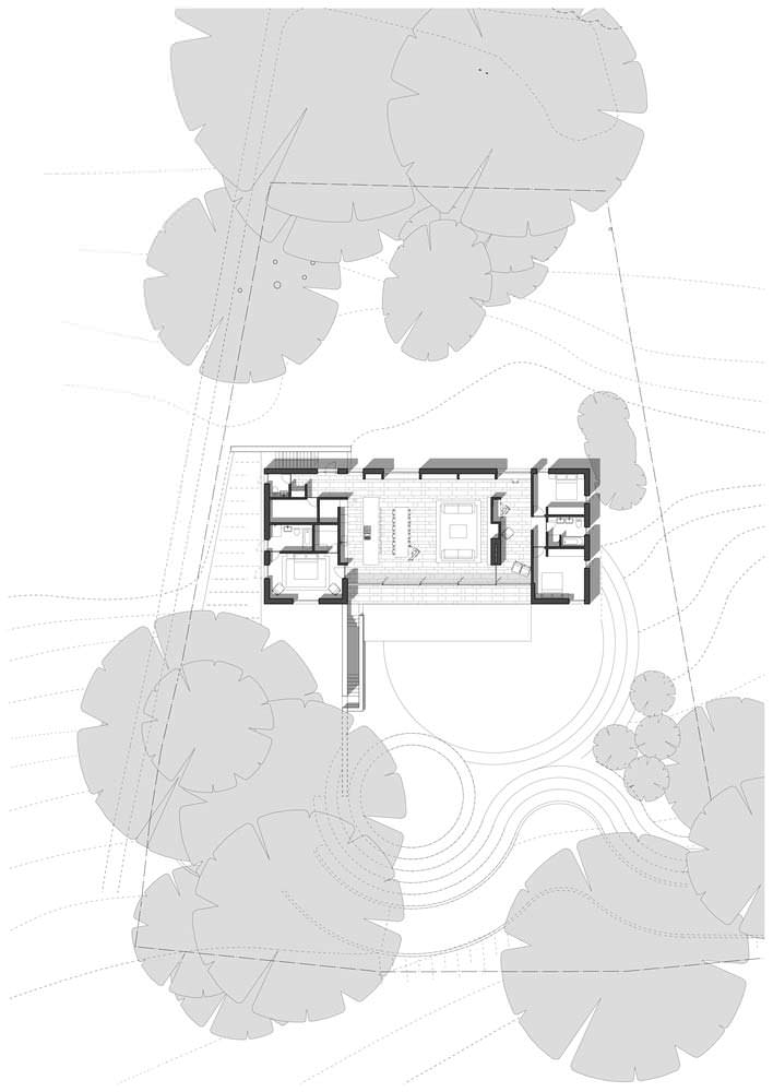Планировка одноэтажного каркасного дома