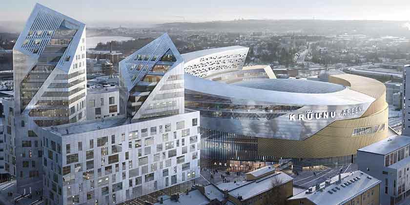 Studio Libeskind планирует грандиозную стройку в Финляндии