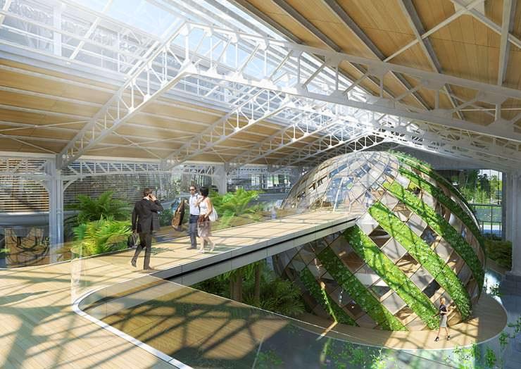 Эко-комплекс от Винсента Каллебо в центре Брюсселя