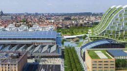 Винсент Каллебо предложил проект эко-квартала для Брюсселя