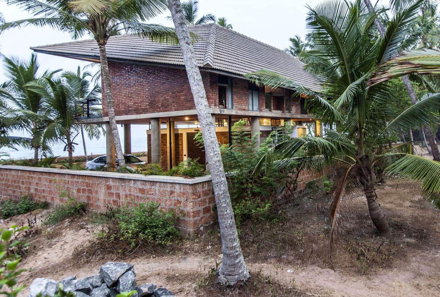 Дом на пляже в Индии