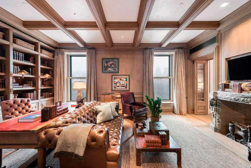 Квартира в отеле «Плаза» на Манхэттене