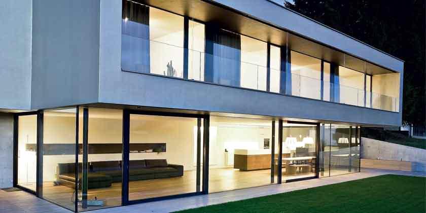 «Лаголит»: алюминиевые окна и двери на заказ