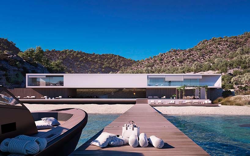 Супер-дом на берегу моря от Маркуса Стрема