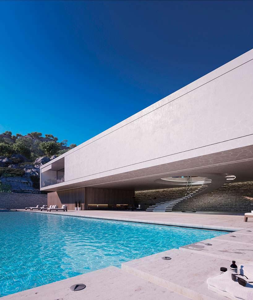 50-метровый бассейн у дома